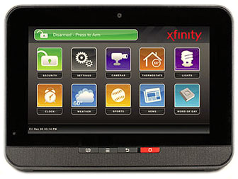 XFINITY Home Touch Screen