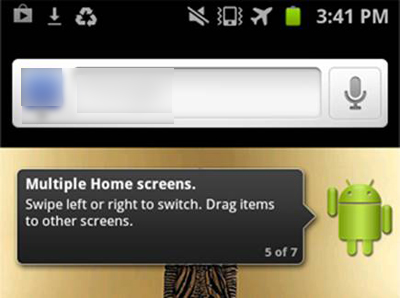 Android - Home Screen