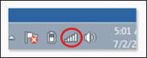 The image displays the Wireless Network icon for Windows devices