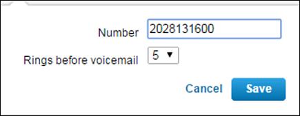 Option to add Nomorobo phone number displays.