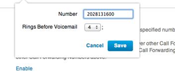Option to add Nomorobo phone number displays