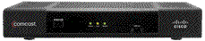Cisco RNG150 set-top box.