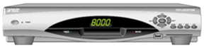 8010 DVR set-top box.
