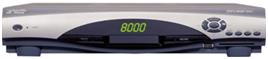 8010HD DVR set-top box