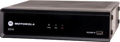 HD set top box - Motorola DCX3200