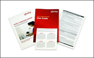 Documents contained in the X1 Self Installation Kit are displayed.  These documents are described below.