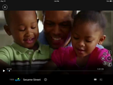 XFINITY TV app for the X1 Platform sign-in process: App is now streaming content