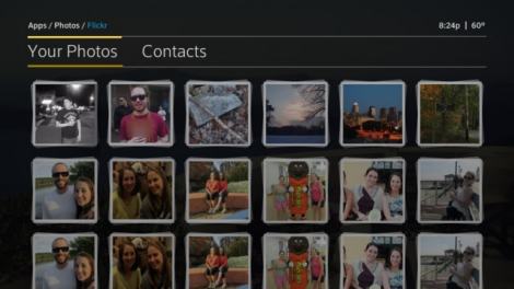 X1 Photos app - Flickr - Your Photos page