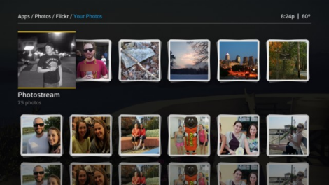 X1 Photos app - Flickr - Photostream page