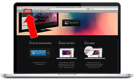 XFINITY TV on the X1 Platform - adding the Send to TV bookmarklet to your browser's bookmark bar