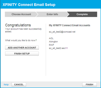Can t get email from secondary account comcast help and support