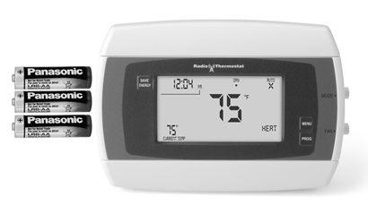 Changing Thermostat Batteries