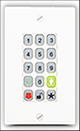 The SMC Wireless Keypad.
