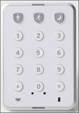 The Centralite Wireless Keypad.