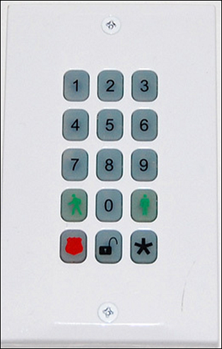 XFINITY Home Wireless SMC keypad screen
