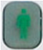 XFINITY Home SMC Keypad Arm Stay icon button - image is of a person standing still