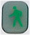 XFINITY Home SMC Keypad Arm Away icon button - image is of a person moving