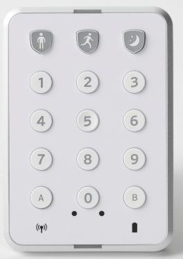 The Centralite Wireless Keypad.
