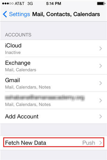 support account setting your